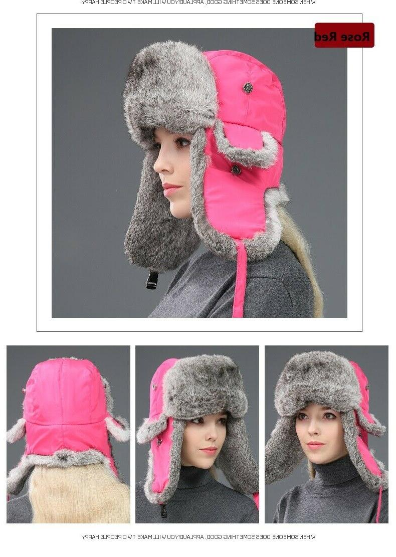 Men's Hats Winter Warm Couples Caps Waterproof