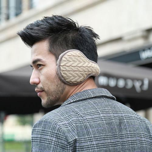 Men Earmuffs Thick Thermal Ear Cover Fur