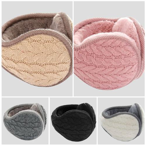 Men Women Winter Earmuffs Cashmere Ear Cover Fur