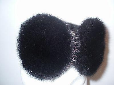 NEW FUR MINK EARMUFFS Great prices don't