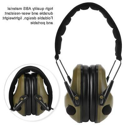 Noise Electronic Muffs Protection Shooting Hunting Sport