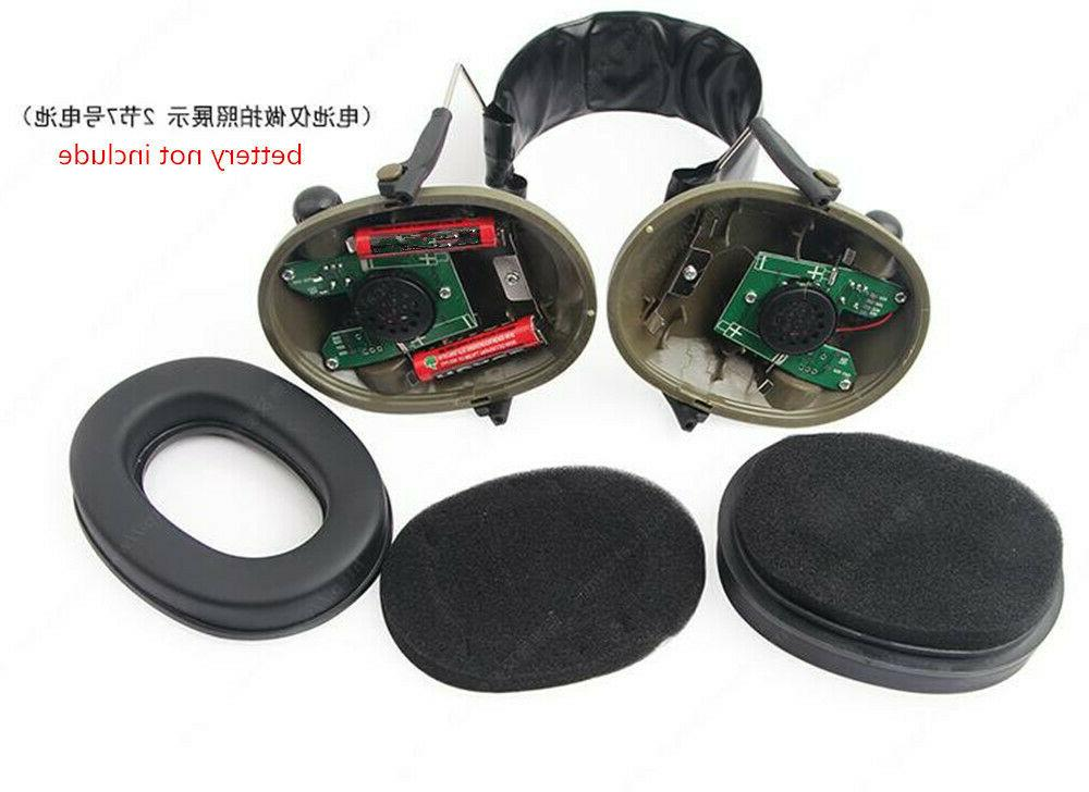 Noise Canceling Muffs Protection Shooting Military Hunting