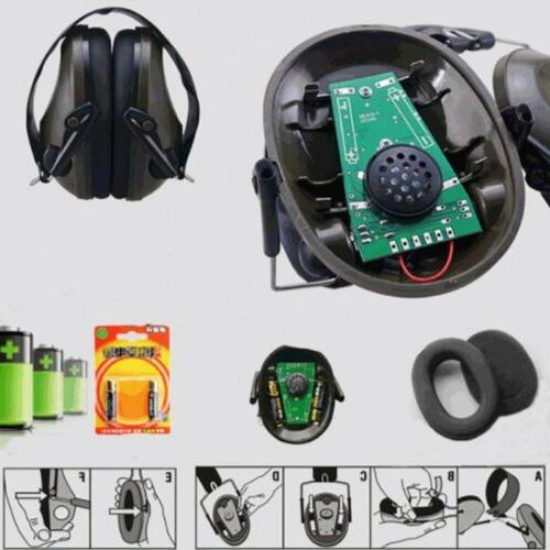 Noise Electronic Ear Muffs Hunting Sport