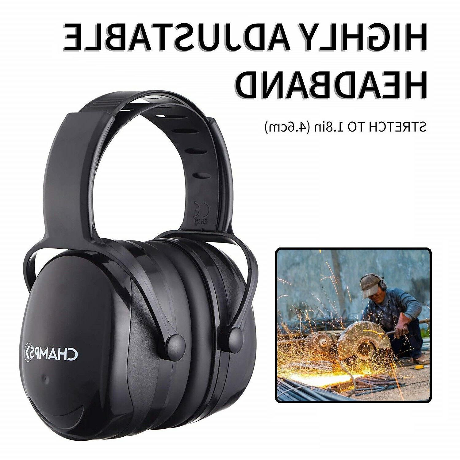 noise cancelling ear muffs adult hearing protection