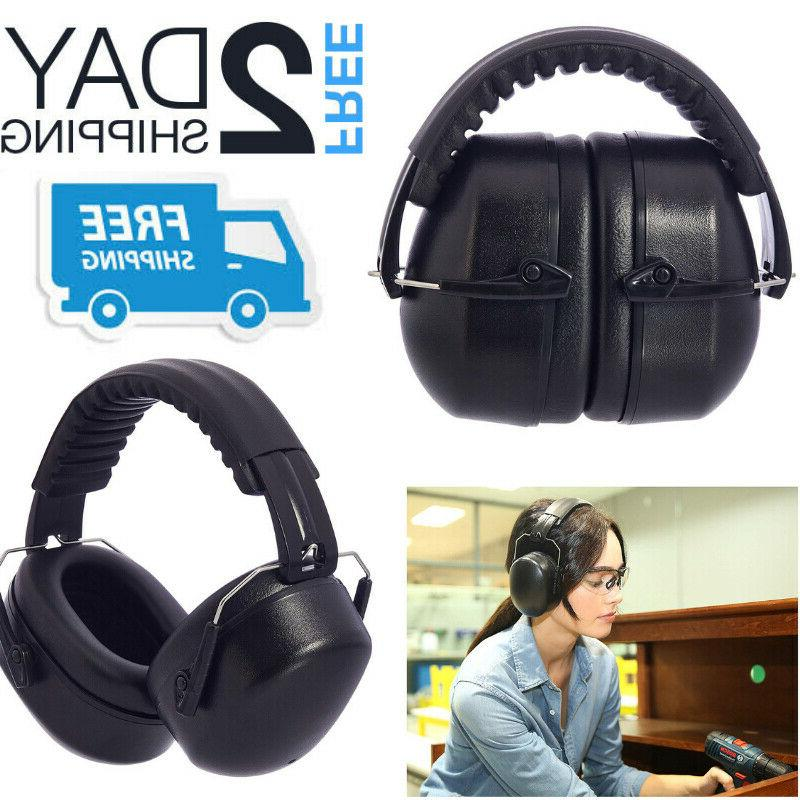 noise cancelling ear muffs shooting range hearing