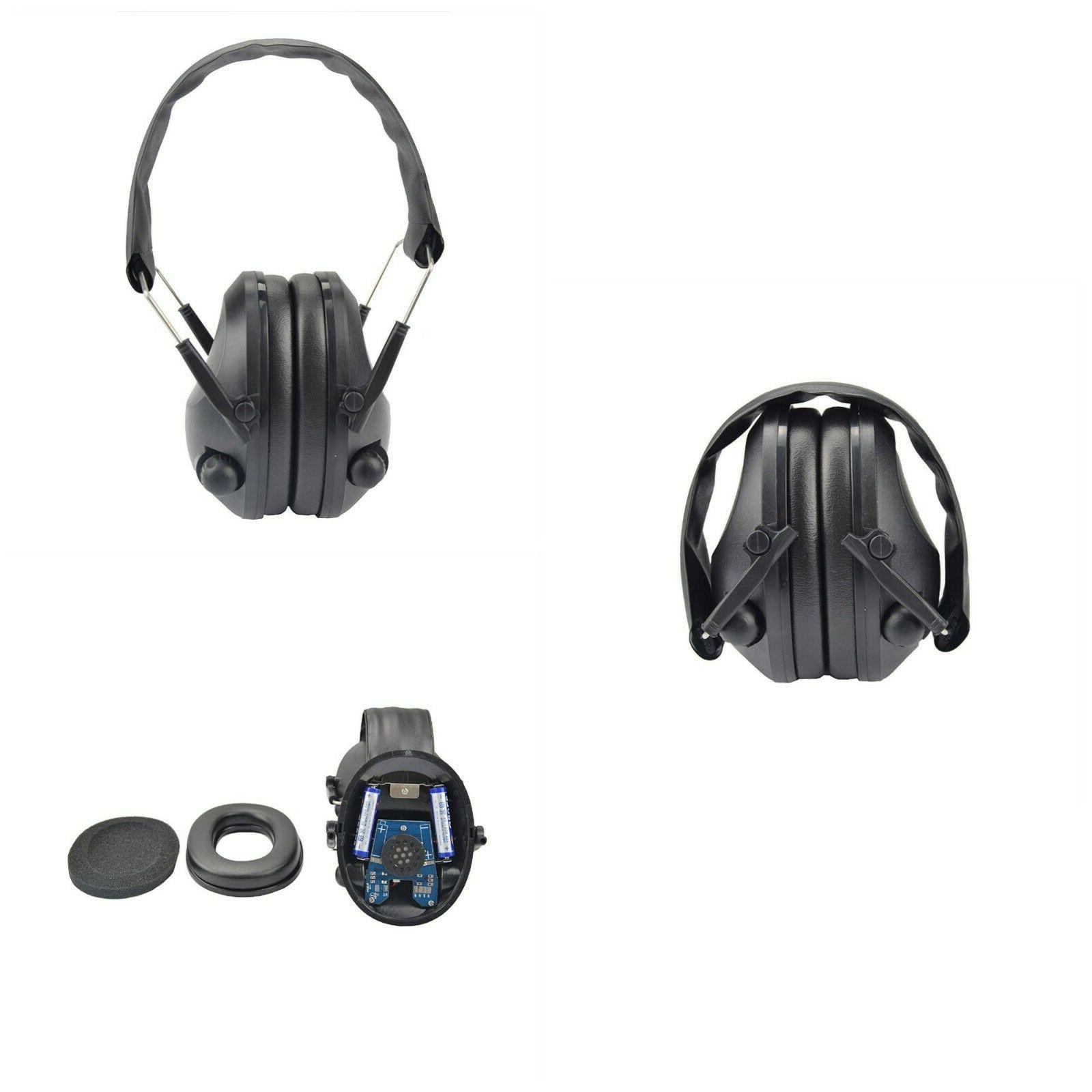 Noise Cancelling Earmuffs Hunting Shooting Hearing Protectio