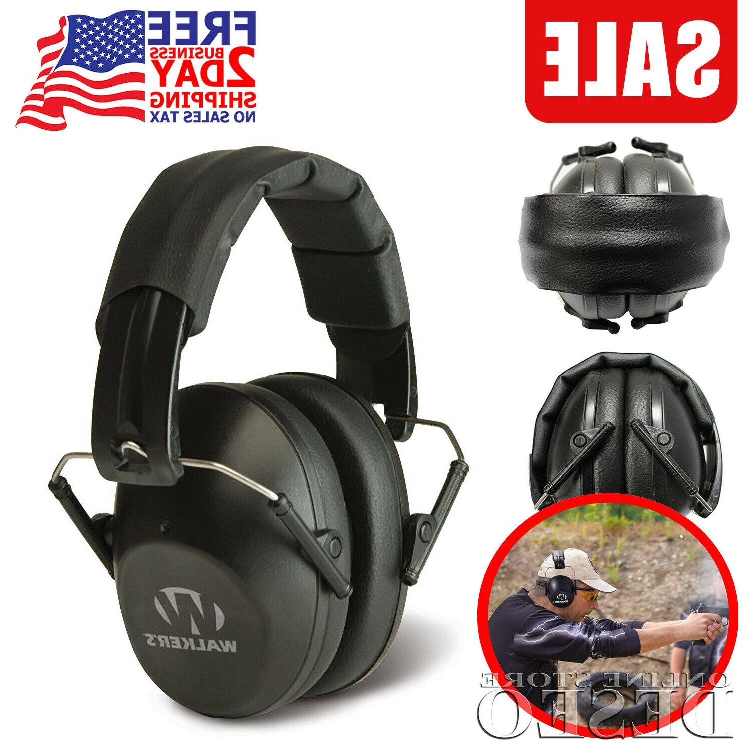 noise reduction ear muffs hearing protection gun