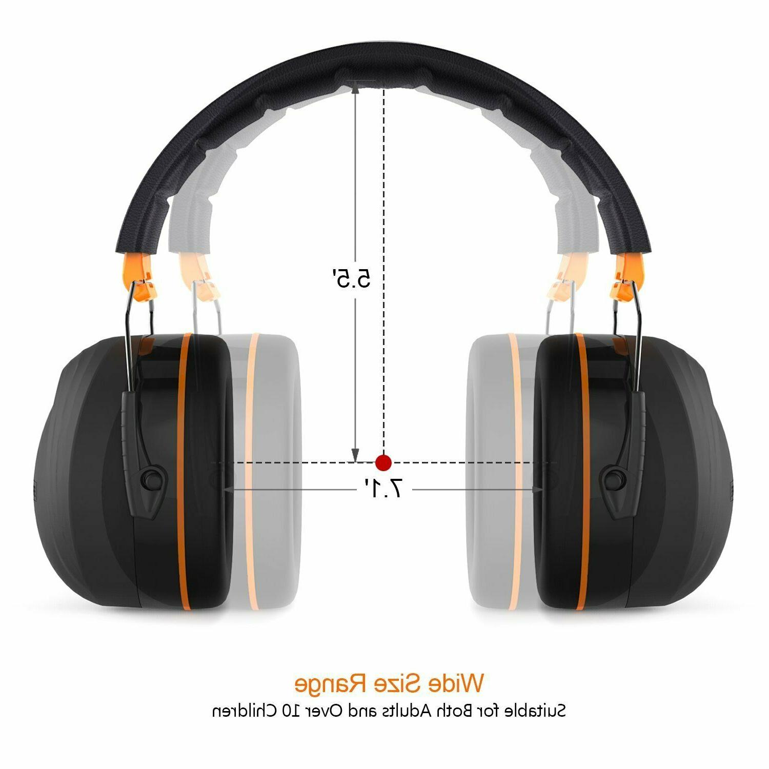 Noise Ear Tacklife 28dB Shooters Hearing Ear Muf