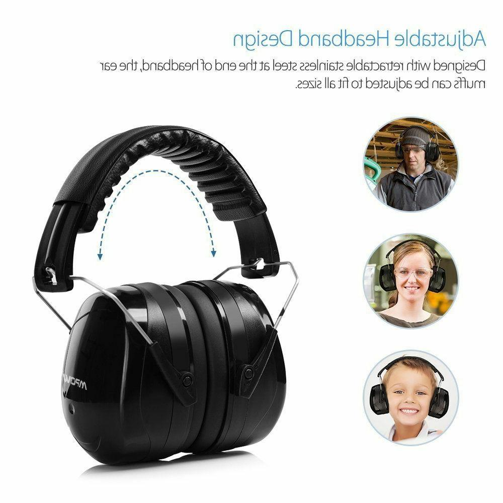 Mpow Noise Reduction Ear Muffs Safety Sound Hearing Protecti