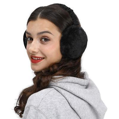 outdoor faux fur ear warmers foldable winter