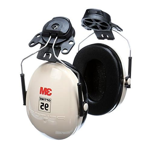 3M 95 Attachable Hearing Protection, Ear NRR 21dB, Ideal for machine shops tools