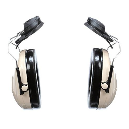 3M Peltor H6P3E/V 95 Attachable Earmuff, Hearing Protection, Protectors, NRR 21dB, machine shops and tools
