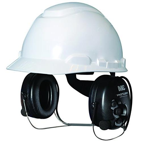 3M 370-SV Tactical Blackt, Hearing NRR 25 dB, Ideal drivers, ground and maintenance mechanics