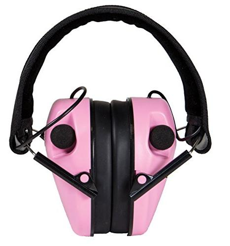 Caldwell Profile Electronic Protection with Amplification and Shooting, and Range, Pink