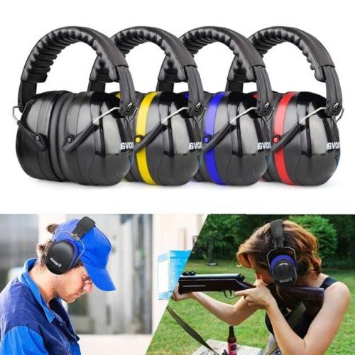 Portable Highest NRR Ear Muffs Protection Ear with