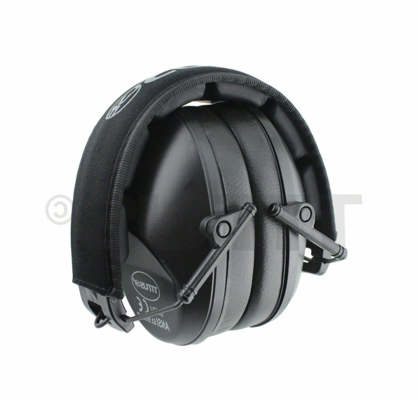 Low Black Ear Muffs