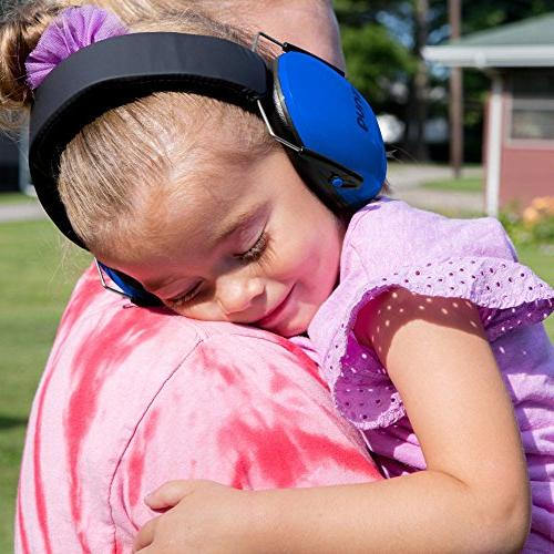Snug Earmuffs Best Hearing Protectors Adjustable Headband Ear For Children and Adults