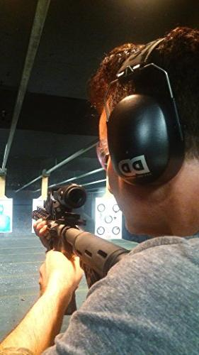 Professional Ear by Decibel Defense 37dB NRR HIGHEST Rated MOST COMFORTABLE Ear - THE HEARING PROTECTION...GUARANTEED