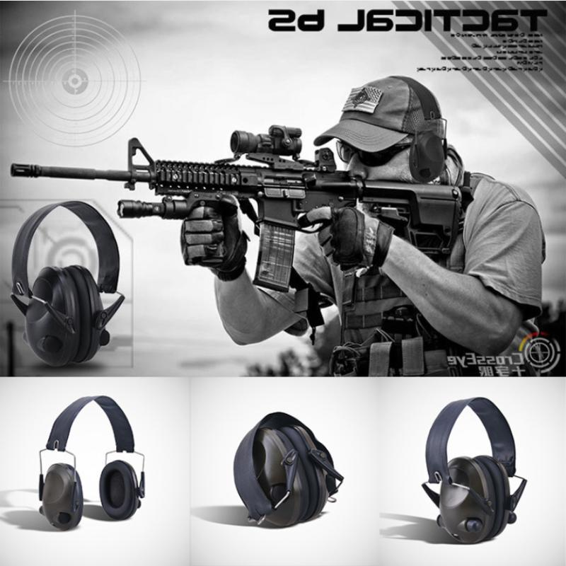 Safety Muffs Protection Gun Shooting Reduction Hunting Sports