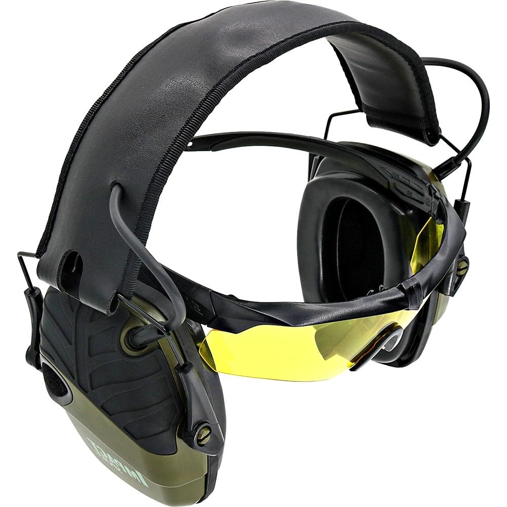Sightlines Pads <font><b>Howard</b></font> <font><b>Leight</b></font> Tactical hunting Hearing Protective Headset Electronic Shooting