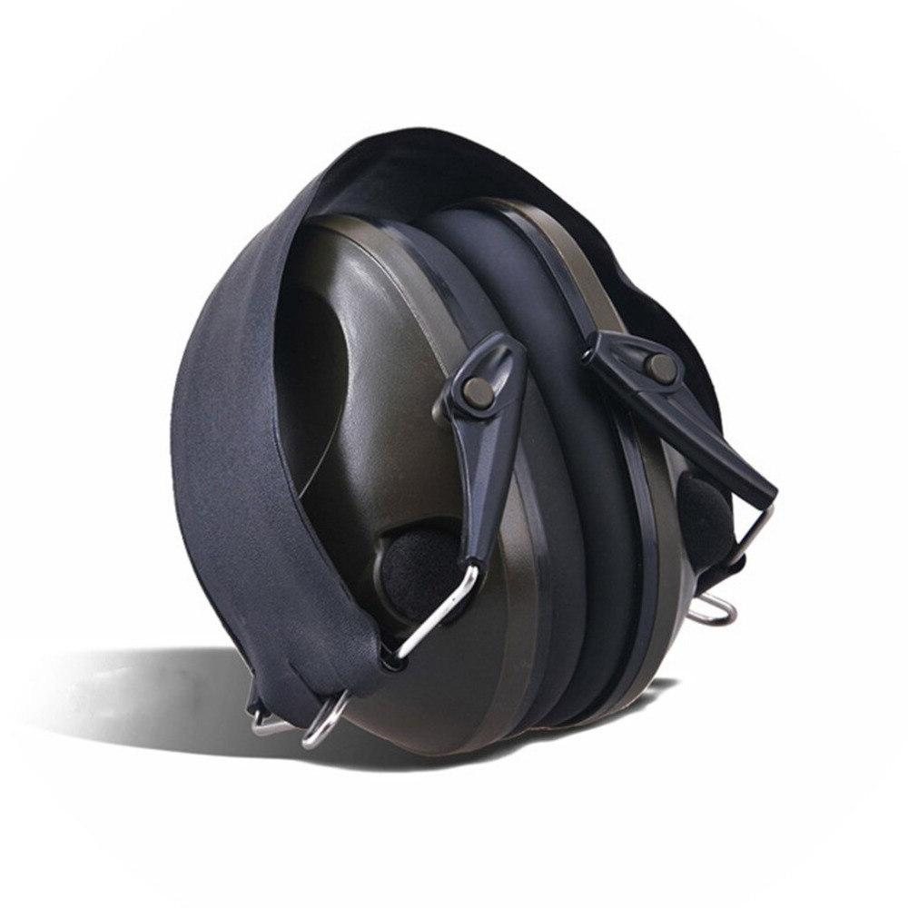 TAC Anti-Noise Canceling Tactical Shooting Headset Soft Electronic for <font><b>Sport</b></font> Hunting