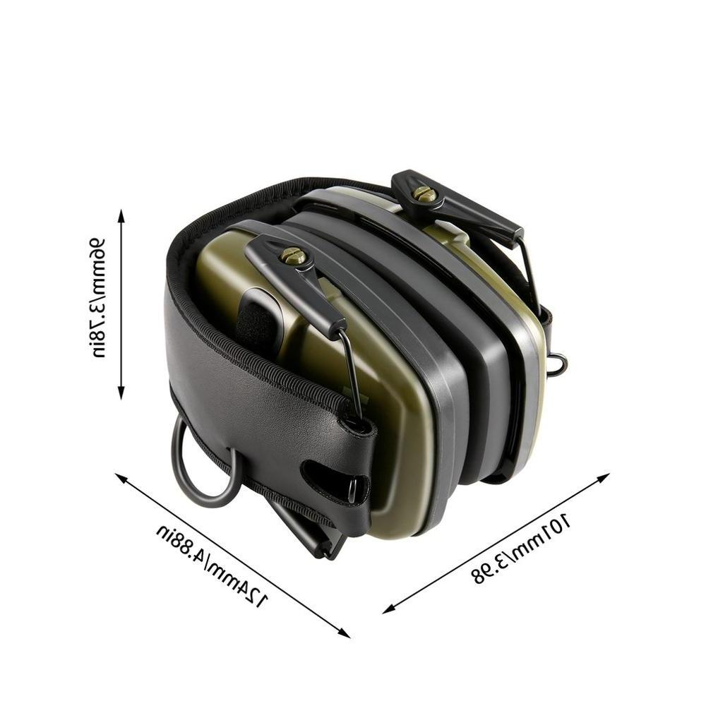 Tactical Electronic Shooting Anti-noise <font><b>Hearing</b></font> Headset Foldable