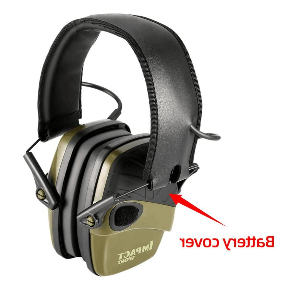 Tactical Electronic Shooting Anti-noise <font><b>Hearing</b></font> <font><b>Protection</b></font> Headset Foldable