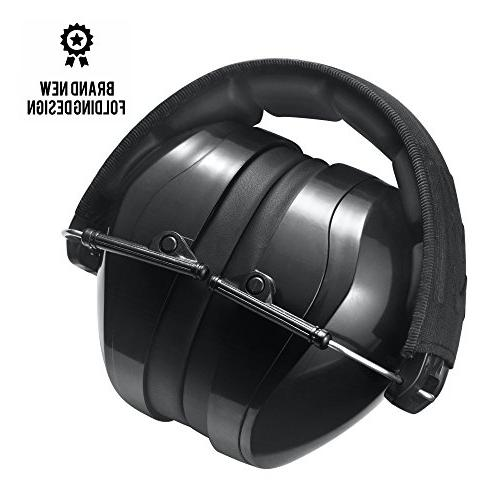 Pro For Terrain Safety – Ear Muffs Much Weight Maximum Protection, Black