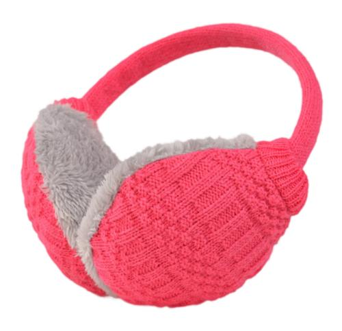 Knolee Unisex Knitting EarMuffs Faux Furry Earwarmer Winter