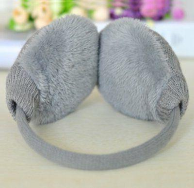 Knolee Knitting Faux Furry Earwarmer Outdoor