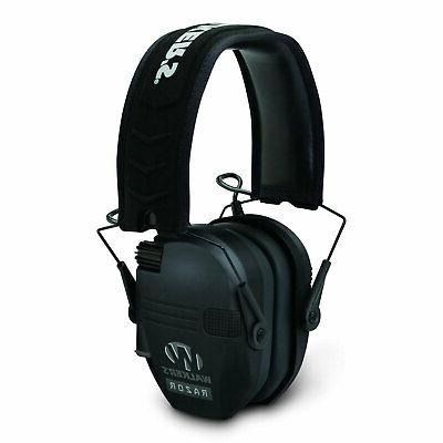 Walker's Razor Slim Shooter Folding Noise Reduction Earmuffs