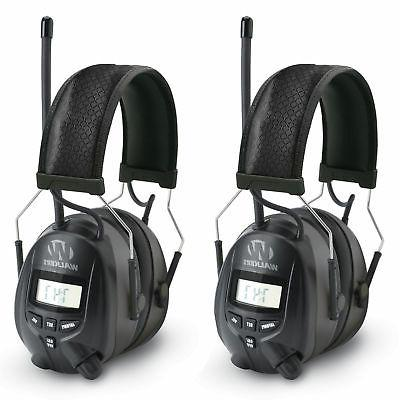 walkers hearing protection over ear am fm