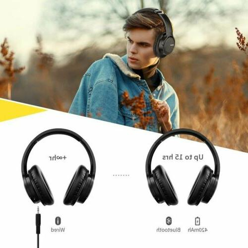 Mpow Stereo Over Replaceable Earmuffs