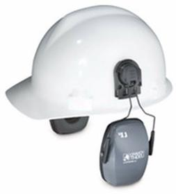 Leightning L1H, NRR 23 Earmuff Hard Hat Mount