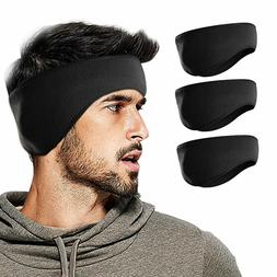 Men Ear Warmer Ski Headband Ear Wrap Moisture Wicking Sweatb