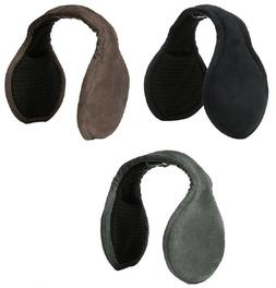 180s Men's Tuckerman Suede Adjustable Ear Warmers EarMuffs O