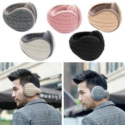 men women winter outdoor earmuffs thick cashmere