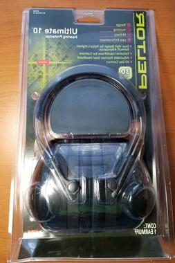 Peltor Midway Ultimate 10 Hearing Protector 30 NRR Earmuffs