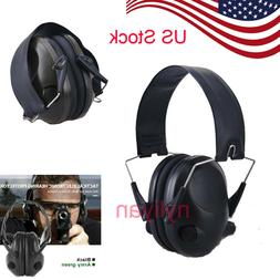 Tactical Electronic Ear Muffs Noise Canceling Shooting Heari