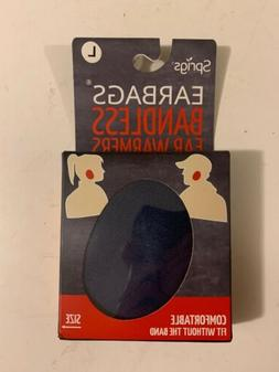 New Sprigs Earbags Ear Warmers Navy Blue Size L