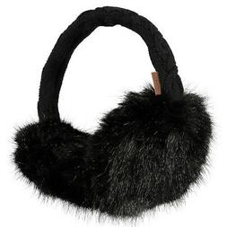 Barts NEW Men's Fur Earmuffs Black BNWT