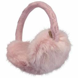 Barts NEW Men's Fur Earmuffs Pink BNWT