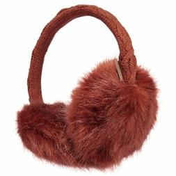 Barts NEW Men's Fur Earmuffs Red BNWT