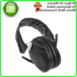 NEW Noise Cancelling Ear Muffs For Shooting Protection Const