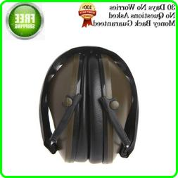 Noise Cancelling Ear Muffs For Shooting Protection Construct