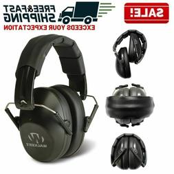 Noise Reduction Safety Ear Muffs Hearing Protection Gun Shoo