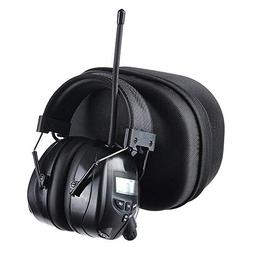 PROTEAR Noise Reduction Wireless Earmuffs with MP3/AM FM Dig