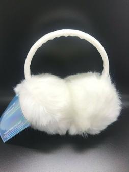 NWT! Ariana Grande Cozy White Cloud Earmuffs Ear Muffs Winte