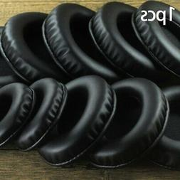 Oval Earphone Earpads Ear Cushion Headset Earmuffs Leather H