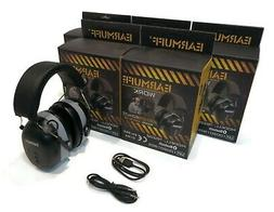 EarMuff Headsets, 31dB with Bluetooth for Work & Constructi